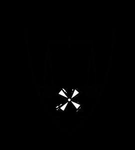 Das Wappen von Lobfeld, eine Waage über einer Mühle an einem Fluss, ist als Qualitätssiegel auf zahlreichen lobfelder Produkten zu finden.